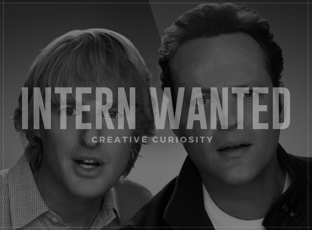 Intern Wanted at Creative Curiosity