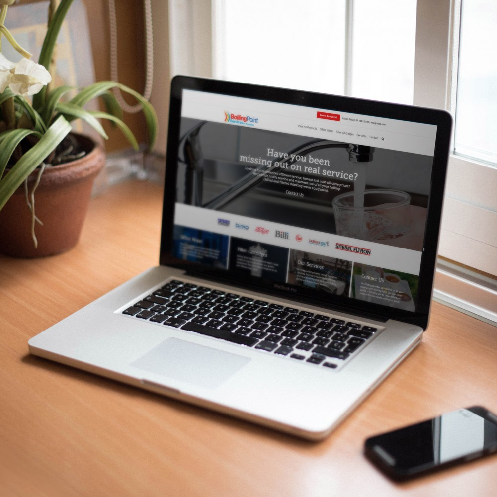 Boiling Point – Website & Photography