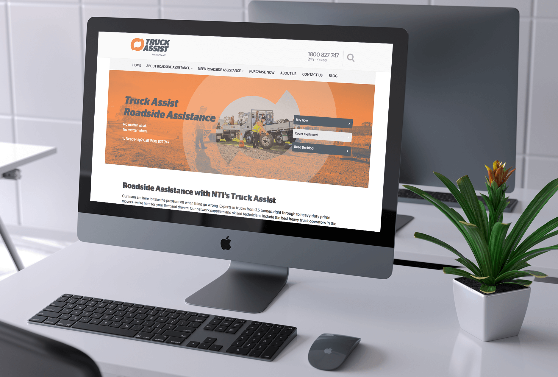 TruckAssist Website, SEO Brisbane, Web Apps Brisbane, Creative Curiosity, Graphic Design Brisbane, Web Design Brisbane, Web Development Brisbane, IT Services Brisbane