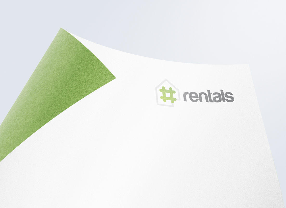 Hashtag Rentals, Logo Design Brisbane, Graphic Design Brisbane, Creative Curiosity