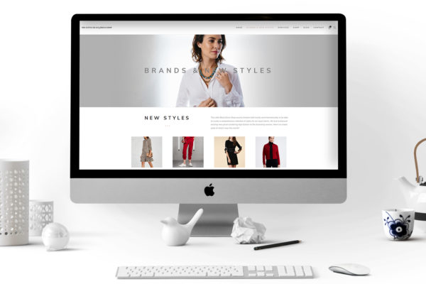 The Little Black Dress Shop – Web Design